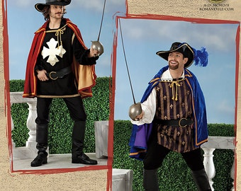 SIMPLICITY PATTERN 2334 – Men's Musketeer Costumes (Out of Print)