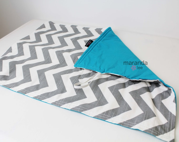 Changing Mat Pad-TO MATCh Your Bag-  Padded Mat Blanket Burp Cloth Baby Shower Gift Diaper Bag Accessories