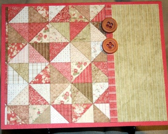 Quilt Card for Any Occasion  20140197