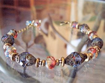 Vintage Style Filligree Bracelet