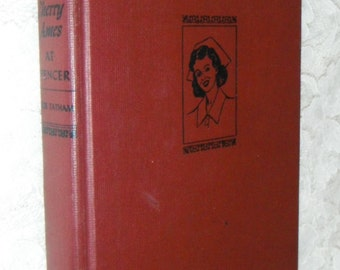 Cherry Ames At Spencer by Julie Tatham Vintage Book