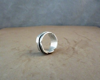 Eagle Feather Ring in Sterling Silver