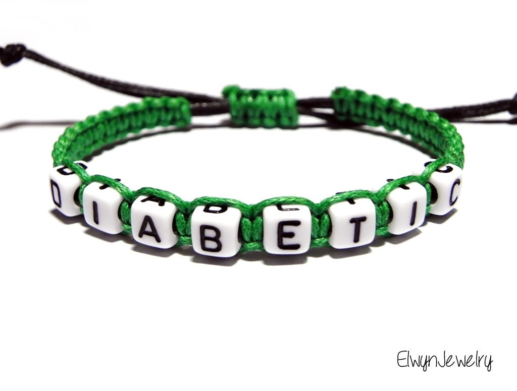diabetic bracelet diabetes bracelet bracelet