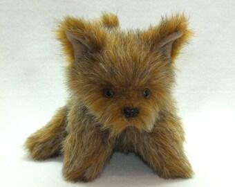 Brown Puppy Hand Puppet