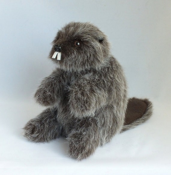 Brody the Beaver  Stuffed Hand Puppet