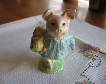 Royal Albert Little Pig Robinson 1989 Beatrix Potter