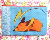 PRE-ORDER Raichu Zipper Bag