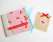 SALE  Retro Inspired Sewing Wallet With Matching Needlebook
