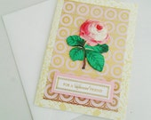 Cottage Chic Special Friend's Card