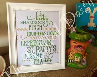 St. Patrick's Day Sunway Art Printable