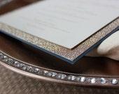 Menu Cards, Wedding Menu Card, Reception Menu Cards, Glitter Menu Cards, Letterpress Menu Cards