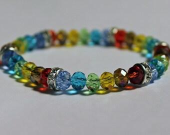 Rainbow LGBT Sparkle Bracelet