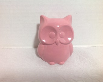 Ceramic Owl Bank