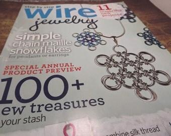 Magazine - Step By Step Wire Jewelry - Vol. 6 No. 6 Dec-Jan 2011