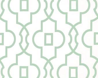 Artichoke Green Bordeaux Trellis Curtain Panels. Window Drapes. 63, 84, 96, 108, 120 Lengths. Light Green Curtains