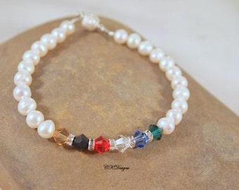 Colors of the Gospel Bracelet, Swarovski Crystals, Freshwater Pearls, Beaded  Bracelet. CKDesigns.US