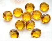 Glass Jewels - 12 Pc. Set of 48ss Golden Topaz