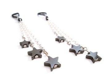 Starfall Nipple Jewelry Non Piercing Intimate Jewelry Nipple Charms
