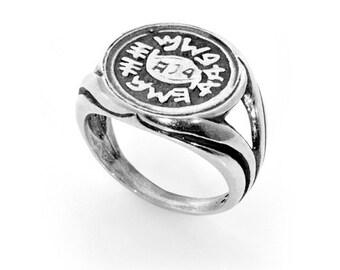 AGAINST EVIL EYE amulet ring