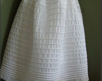 Historical Corded Petticoat with 20 rows of cording (Custom)