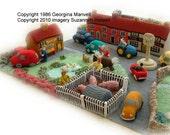 LITTLE KNITTINGTON ( Village) toy knitting pattern/booklet by Georgina Manvell