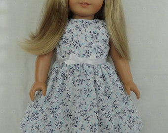 18 Inch Doll-American Girl Dress: Country Calico