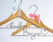 Personalized Baby Hanger, Baby Shower Gift, Baby Birthday, Custom Baby Gift Hanger