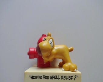 Vintage Grimmy Figurine Toy 1989