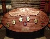 Solid Oak Eagle Scout Plaque