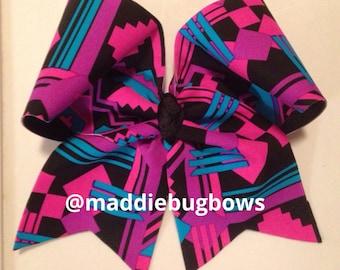 Aztec Cheer Bow