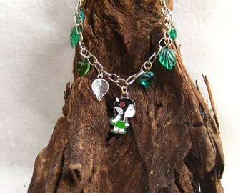 Green Elf Necklace