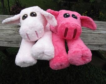 Plush Pig HEATING PAD Pattern - Instant Digital Download