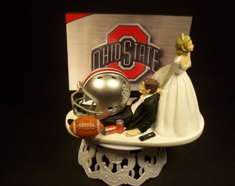 ohio state michigan wedding cake toppers hockey sports team la los angeles and by mikeg1968 17977