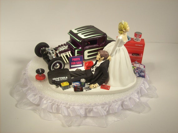 mechanic wedding cake toppers auto mechanic and groom 1929 ford model a by mikeg1968 17250