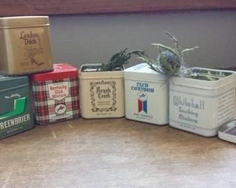 Vintage (6) Kentucky Club SmokingTobacco Tins