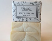 Body Butter Handmade Soap ~ Unscented Soap, All Natural Soap, Facial Soap, Vegan Soap