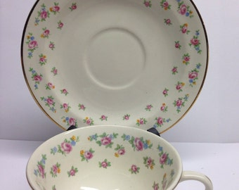 Cup and Saucer WS George Patrica Radison Shape Derwood