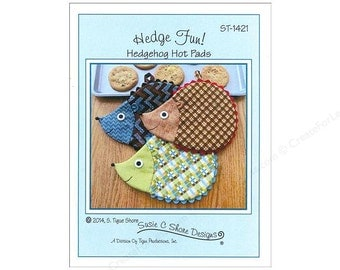 PAPER PATTERN - Hedge Fun! Hedgehog Hot Pad