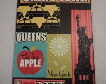 Passport Cover Iconic New York  (#89)