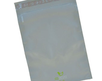 """12"""" x 15.5"""" - 88% Recycled Poly Mailer - Bundle of 100"""
