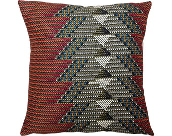 CHEVRON African Wax Print Pillow Covers