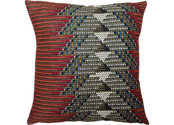 CHEVRON African Wax Print Pillow Covers