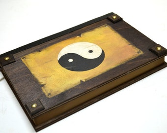 Zen art, chinese art, sketch book, zen decor, ying and yang, zen asian, zen painting, ying yang, chinese symbol, yin yang