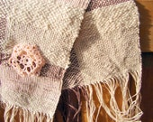 Woven Placemat, Cottage Chic, Crochet Flowers, Table Runner