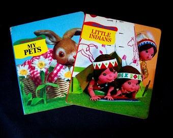 Vintage 3D Children's Book Bundle - 2 Books - 1982