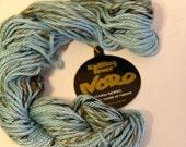 7 skeins Noro yarn: blue tweed silk country; silk alpaca yarn