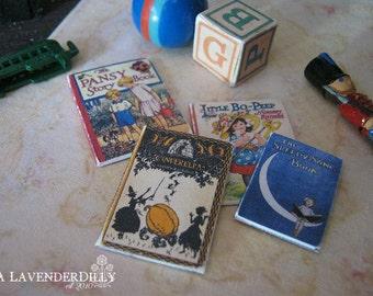 Children's Books for Dollhouse