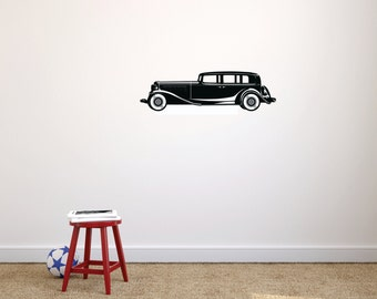 Old Car Wall Decal