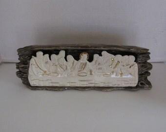 Davinci's Last Supper Jesus and Disciples in Ceramic