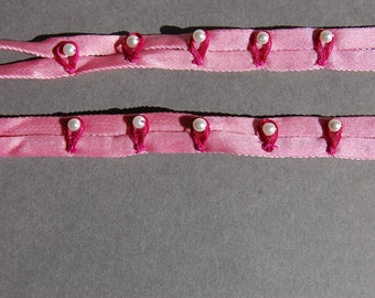 Pink Pearl Premade Strap